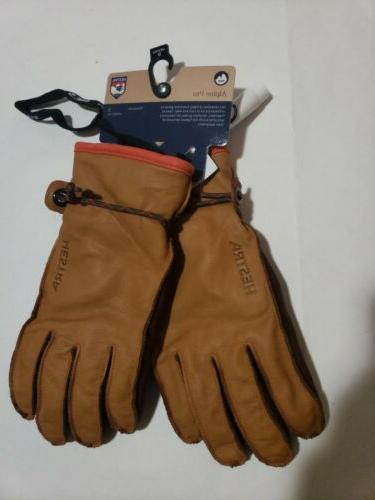 wakayama leather ski snowboard ski gloves unisex