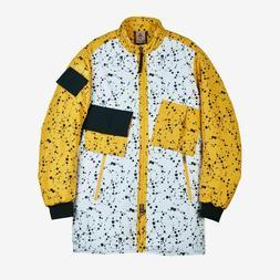 Nike NikeLab ACG Insulated Snowboard Jacket Yellow Ochre Bla