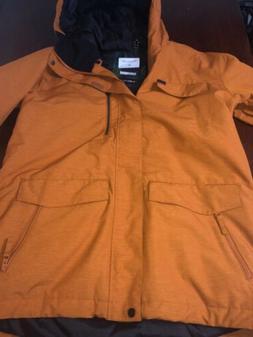 QUIKSILVER Large Burnt Orange Snow/Snowboard/Ski Jacket