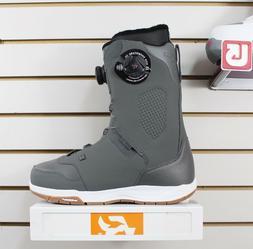 Ride Lasso Boa Snowboard Boots Men's Size 8 Grey New 2019