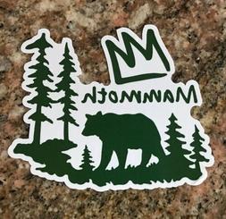 Mammoth Mountain Sticker - Ski Snowboard Camping Fishing Hik