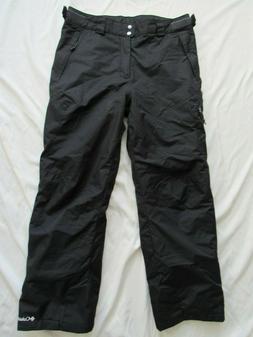 Columbia Men's Bugaboo II Snow Ski Pants Sz Large Black Wate