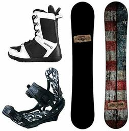Camp Seven Drifter and APX Men's Complete Hybrid Snowboard P