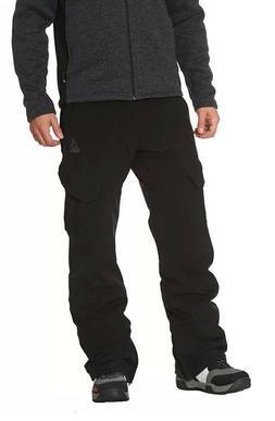Gerry Men's Fleece Lined Snowboard Ski Snow Pants 4 Way Stre