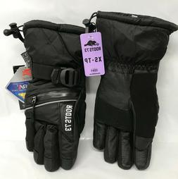 Roots 73 Men's Hipora Arctic Ski Snowboard Gloves Black XS T