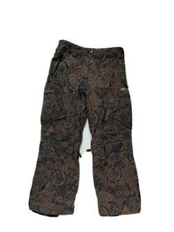 Burton Men's Small Multicolor Print Snow Ski Snowboard Pants
