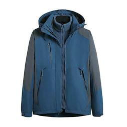 Men's Winter Waterproof Outdoor Coat Ski Suit Jacket Snowboa