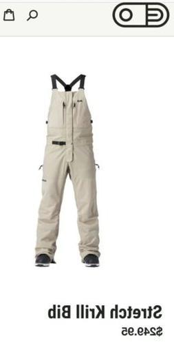 Airblaster Mens Bib Pants Stretch Krill 2020 15K L Large Sno