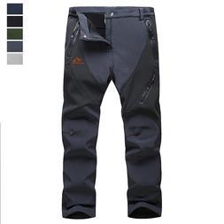 Mens Outdoor Ski Snowboard Pants Insulated Waterproof Hiking