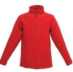 Mens Red Outdoor Soft-shell-Jacket Regatta Uproar Water Repe