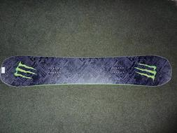 "Never Summer Monster Energy ""BEAST"" Edition Snowboard 154cm"