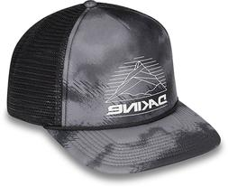 Dakine Mountain Lines Trucker Hat Curved Brim Snapback Ashcr