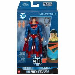 "DC MULTIVERSE KINGDOM COME SUPERMAN 6""action figure LOBO WAV"
