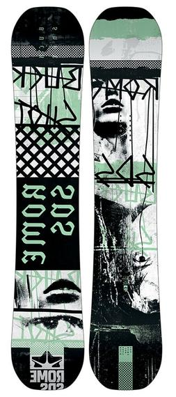 New 2019 Rome Buckshot Mens Snowboard 158 cm
