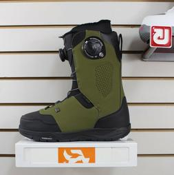 New 2019 Ride Lasso Boa Snowboard Boots Mens Size 8 Olive