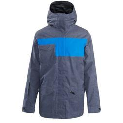 New 2019 Dakine Mens Elsman Snowboard Jacket Large India Ink