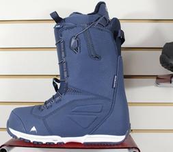 New 2019 Burton Ruler Snowboard Boots Mens 9.5 Blues Speed Z