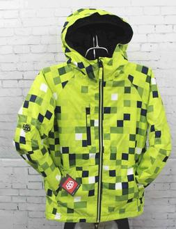 New 2019 686 Youth Boys Jinx Insulated Snowboard Jacket Medi