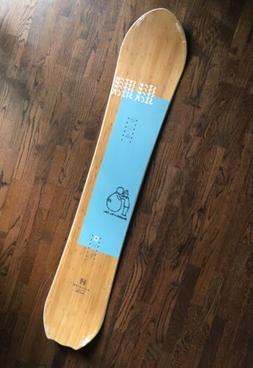 New 2020 Salomon Sickstick Snowboard 157 cm Powder Board Bur