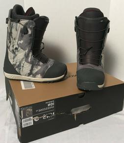 NEW $550 Burton Ion Speedzone Snowboard Boots!  US 8.5 UK 7.
