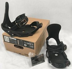 NEW $550 Burton X-Base EST Mens Snowboard Bindings!   *Small