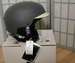 New Anon Aera Snow Ski Helmet Matte Black Sz Medium M Womens