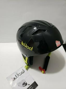 NEW Bolle Kids Ski Snowboard Helmet 49-53 cm Youth Shiny Bla