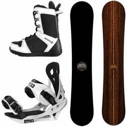 New Camp Seven 2020 Roots and Summit Bindings +Boots Men's S