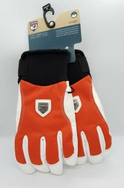 NEW HESTRA CZONE ALPINE SHORT LEATHER GLOVES Size 7 / 8