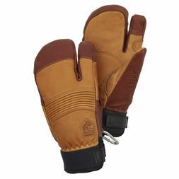 NEW! Hestra Freeride Czone 3-finger Ski Gloves Unisex Color