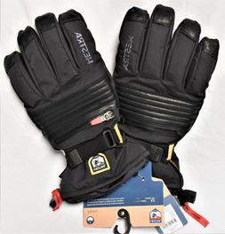 *NEW* HESTRA Unisex 11 XXL BLACK All Mountain Czone Gloves W