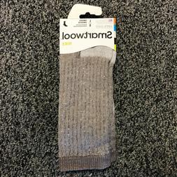 NEW Smartwool Mens Hike Merino Wool Crew Socks - Brown Heath