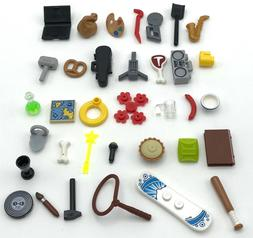 LEGO NEW MINIFIGURE UTENSILS ACCESSORIES YOU PICK WHAT PARTS