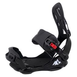 New System LTX Rear Entry Step-In Snowboard Bindings