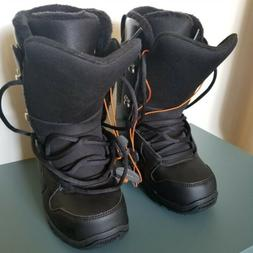 New Thirty Two Thirtytwo Exit Womens Black on Black Snowboar