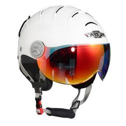 NENKI NK-2012 Ski Helmet with Anti Fog Visor for Snow Sport