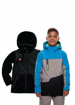 NWT 686 Boys Kids Youth SMARTY 3 in 1 Amp Snowboard jacket M