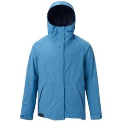 NWT Burton HILLTOP Snowboard Jacket VALLARTA BLUE  Men's X