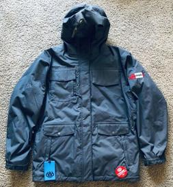 NWT 686 Mens Large Smarty Insulated 3 in 1 Snowboard Jacket