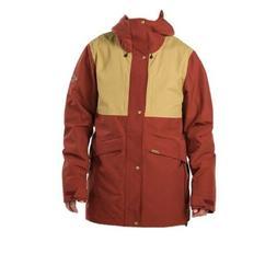 NWT Dakine Wyeast Snowboard Jacket Men's XL Russet/Fennel