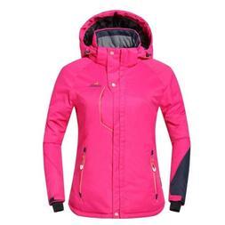 Phibee Outdoor Women's Waterproof Winter Ski Jacket Pink Siz
