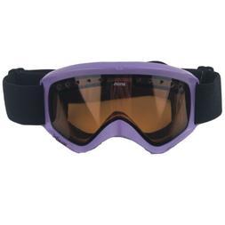 Anon Purple Snowboard Ski Goggles Tinted Lenses Black Strap