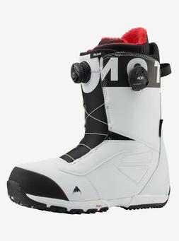 Burton Ruler BOA | 2020 - Mens Snowboard Boots | White / Bla