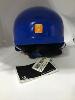 Anon Scout Kids Snowboarding / Sking Helmet Blue Shark tank