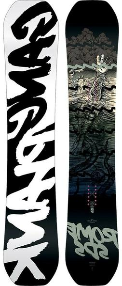 Rome SDS Gang Plank Mens Snowboard 158 cm New 2020 White and