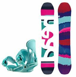 HEAD Shine Women's Snowboard with Matching NX Fay 1 Bindings