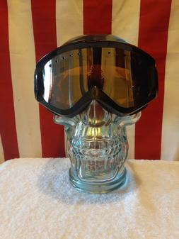 Anon Ski/Snowboard Goggles Black with Amber Lens + Extra Whi