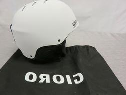 Gioro Ski Snowboard Helmet Adult Teen White Large Adjustable