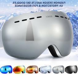 Skiing Snowboarding Goggles Double Lens Anti-fog UV Snow Ski