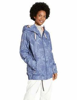 Roxy Snow Junior's Valley Hoodie Snow Jacket, Crow - Choose